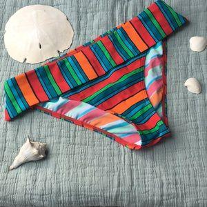 ☀️👙Sassy stripes swim bottoms